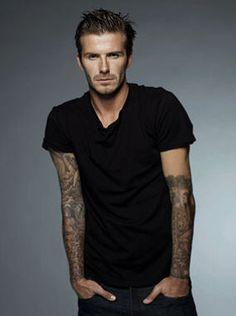 David Beckham. ARRIBA