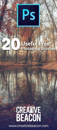 20 Useful #Free #Photoshop Brushes for killer work!