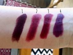Whimsy Is Forever: My favourite plum and purple lipsticks!
