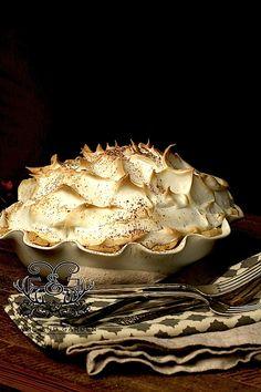 Chocolate Meringue Pie - Fail Proof - Stacy Lyn Harris www.gameandgarden.com