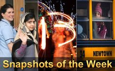 This weekly collection includes eye-catching images from around the world.... 2. Revelers write the number 2013 using sparklers during the Hogmanay