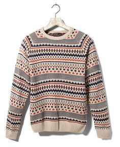 PULL JACQUARD - MAILLE - HOMME - France