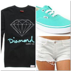 Cozy outfit ♥ diamond supply co.