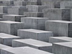 Architecture does not always have to be practical, it can also be monumental. This Holocaust monument is a reminder of dark times and that we should be more open and understanding human beings, otherwise the mounds of the dead can be staggering. A reminder can also be a social service.
