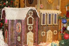 Chef Thomas' gingerbread castle is complete and now on display at The Beverly Hilton!