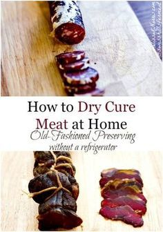 Learn how to preserve and dry cure meat at home like Laura Ingalls and the pioneers. Learning how to cure meat, which recipes and techniques don't require a refrigerator and how to make sure you doing it safely. Grab 3 free dry curing meat recipes and start making your own meats at home