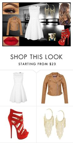 """Date Night Dress: Peggy Carter"" by chesney-kuper ❤ liked on Polyvore featuring beauty, Tommy Hilfiger, Miss Selfridge and Lydell NYC"