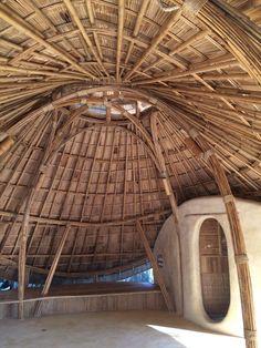 Bamboo Sala Dome at Chiangmai Life Construction