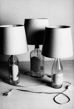 Maison Martin Margiela Bottle Lamps