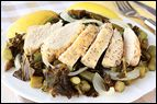 Lemon Chicken with Kale