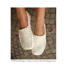 Crochet Loafers for big girls. And boys too! Pattern.