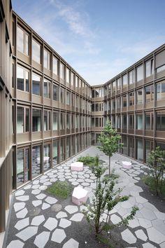 Uni-Neubau von Birk Heilmeyer und Frenzel / Gründercharme in Kassel - Architektur und Architekten - News / Meldungen / Nachrichten - BauNetz.de