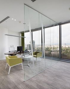 Enclosed office