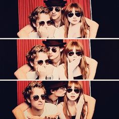 Karen and the Babes. Matt is still kissing everyone in sight. He is literally the Captain Jack substitute
