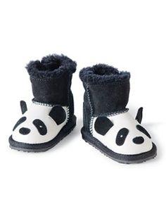 First Walkers Panda Booties