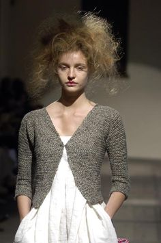 Daniela Gregis 2006 - the perfect summer sweater for over wide dresses and tunics