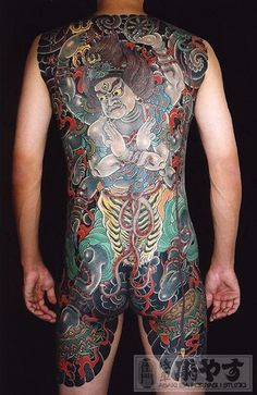 japanese yakuza tattoo - Google Search