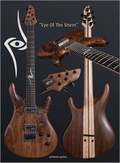 "Pedersen Guitars ""Eye of the Storm"""