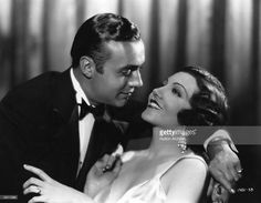 Charles Boyer and Claudette  Collier in a romantic embrace I  anuary 01, 1925.