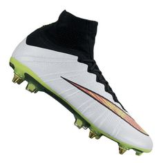 eb7662dfc6 Футболни обувки NIKE MERCURIAL SUPERFLY SG PRO WHITE