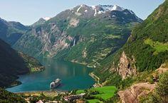 Fiorde Aurlands e Flam, Noruega