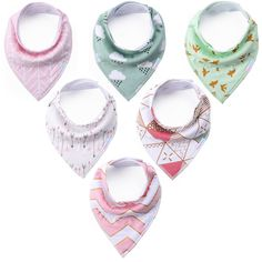 KiddyByte Baby Bandana Drool Bibs - Cute Design for Girls, Super Absorbent 100% Organic Cotton for Drooling Teething and Feeding, Perfect Baby Shower and Newborn Registry Gift Set. CUTE & COOL BABY DROOL BIBS: There is nothing cooler than a stylish bandana bib on a drooling toddler. These super soft, absorbent and hypoallergenic baby bibs with adjustable snaps will make your little ones look as sharp as their mom and dad do - and also take care of any drooling or teething issues…