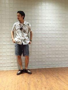 RYO-matsu│Universal Worksのシャツ・ブラウスコーディネート