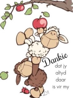 Dankie dat jy altyd daar is vir my Cartoon Drawings, Animal Drawings, Cute Drawings, Sheep Cartoon, Sheep Art, Happy Eid, Tatty Teddy, Illustrations, Whimsical Art