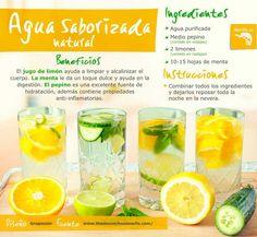 Incluye algunas recetas rápidas y fáciles, alimentos y sus calorías, antioxidantes y más.