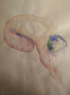 Woman, watercolor