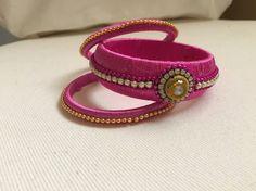 Silkthread bangle from Nstudio