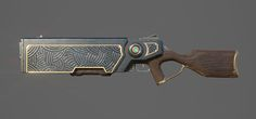ArtStation - Repeater Rifle, Tim Kaminski