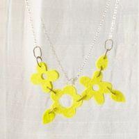 Eco Felt necklace - Collares de Fieltro
