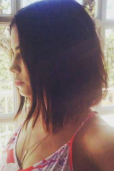 Jenna Dewan Tatum Works An A-Line Cut On Instagram, 2015