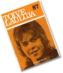 Toivelauluja-vihkonen nro 87, vuosi 1971