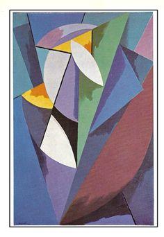 Alberto Magnelli - Catálogo Musée National d'art Moderne, Paris 28 février 21 avril 1968 Composition 9526, 1915