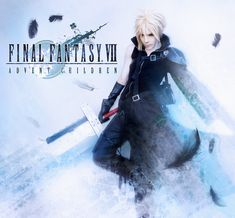 FFVII Advent Children Cloud Strife cosplay wallpaper by Akitozz6