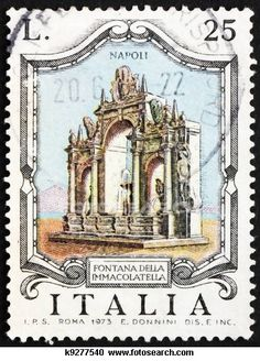 Postage stamp Italy 1973. Learn about your collectibles, antiques, valuables, and vintage items from licensed appraisers, auctioneers, and experts at BlueVault. Visit:  http://www.bluevaultsecure.com/roadshow-events.php