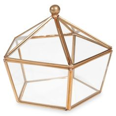 Boîte à bijoux en verre MESSINA