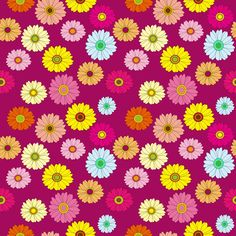 Graphic Wallpapers Floral Pattern
