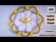 ladoo gopal ji Dress|| how to make easily - YouTube Back Hand Mehndi Designs, Henna Art Designs, Crochet Stitches, Crochet Hats, Laddu Gopal Dresses, Ladoo Gopal, Woolen Dresses, Craft Party, Crochet Projects