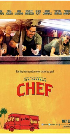 Chef. A simple movie which inspired me pretty much.