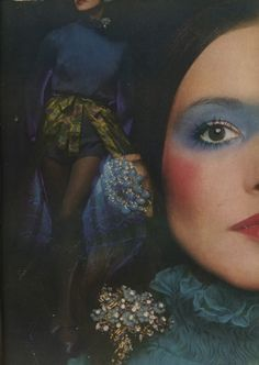 Editorial by Barry Lategan for Vogue UK, June 1971