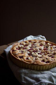 Raspberry Almond Frangipane Tart