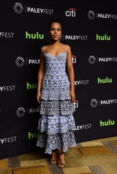 Kerry Washington Photos - The Paley Center for Media's 33rd Annual PaleyFest Los Angeles - 'Scandal' - Inside - Zimbio