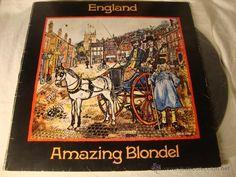 LP AMAZING BLONDEL England 972 ILPS-9205 Island PORTADA ABIERTA VG DISCO VG