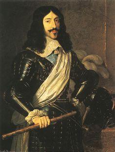 Philippe de Champaigne, King Louis XIII, 1655, oil on canvas, 108 x 86 cm (Museo del Prado, Madrid)