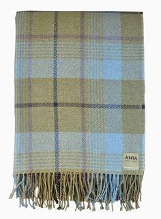 Duncan MacGillivray Wool/Cotton Throw - Throws - Homeware
