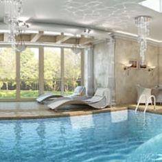 Pergola piscina piscinas de estilo clásico de san cristobal hnos constructora clásico   homify Windows, Outdoor Decor, Home Decor, Classic Style, Saint Christopher, Design Ideas, Pools, Interior Design, Decoration Home