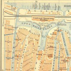 Large BRUSSELS map 1879 antique map of Brussels city plan - original ...